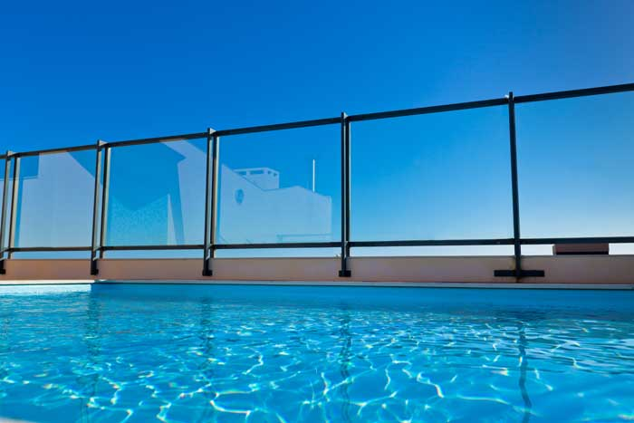 Buy Safety Pool Glass/Mesh Fence in Dubai UAE | PoolShop Dubai